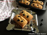 Blueberry Mini Loaf Cakes