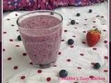 Blueberry - Strawberry Smoothie