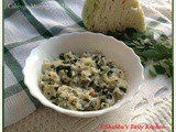Cabbage- Muringayila / Drumstick Leaves Thoran