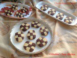Checkerboard Cookie / Vanilla Chocolate Checkerboard Cookies