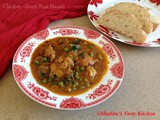 Chicken - Green Peas Masala