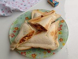 Chicken Keema Toast Sandwich