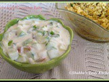 Green Apple - Cucumber Raita