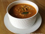 Koonthal Varutharacha Curry / Squid in Roasted Coconut Gravy