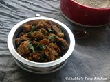 Koorka / Chinese Potato - Chicken Roast
