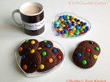M & m Chocolate Cookies