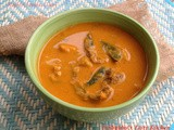 Mathi - Chembu Curry / Sardine Curry With Taro