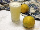 Mosambi Juice / Sweet Lime Juice