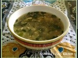 Muringayila / Drumstick Leaves - Chicken Soup