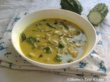 Peechinga Paal Curry / Ridge Gourd - Coconut Milk Curry
