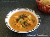 Prawns and Potato Curry / Chemmeen Urulakizhangu Curry