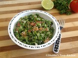 Tabbouleh / Parsley Salad with Bulgur