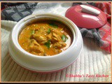 Thenga Aracha Chicken Curry / Chicken Cooked in Coconut Paste