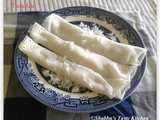 Therada / Thera Ada / Coconut Filled Rice Crepes