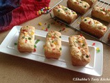 Tutti Frutti Mini Loaf Cakes / Mini Loaves