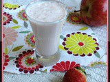 Apple - Strawberry Milkshake