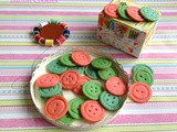 Button Cookies / Shortbread Buttons