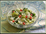 Cabbage - Green Grapes Salad