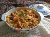 Chicken and Paneer Rice / Chicken - Paneer Pulao