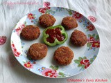 Chicken - Beetroot Cutlet