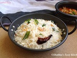 Coconut Rice / Thenga Sadam