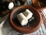 Cooked Rice Puttu / Soft Puttu Using Frozen Cooked Rice ( Choru Puttu )