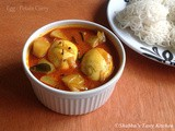 Egg - Potato Curry