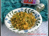 Green Peas - Egg Stir Fry