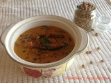 Kadala Thengapal Curry/ Black Chick Peas Curry with Coconut Milk
