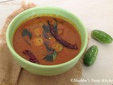 Kovakka Theeyal / Ivy Gourd Cooked in a Roasted Coconut Gravy
