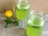 Mint Lemon Soda / Mint Soda Sarbath