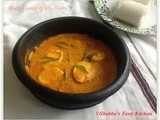 Mutta Thenga Aracha Curry / Egg in Coconut Gravy