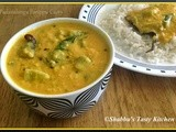 Padavalanga Parippu Curry/ Snakegourd and Dal Curry