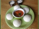 Sanna / Sannas ( Steamed Rice Cake )
