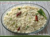 Spring Onion Butter Rice