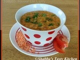 Tomato- Masoor Dal Curry