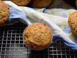 Lemon Poppy Seed Buttermilk Oatmeal Muffins