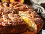 Peach Cake Recipe with Buttermilk
