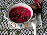 Beetroot Pachadi(Yogurt gravy)–Onam Sadya Recipes