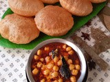 Channa Madra - Himachali Cuisine (Chickpeas with Yogurt gravy)