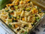 Mango Avocado Pasta Salad