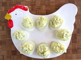2-Ingredient Deviled Eggs {super simple} #IsabelsBirthdayBash