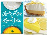 Anniversary Lemon Custard Pie from the novel 'Luck, Love & Lemon Pie'