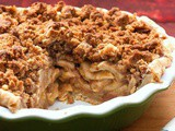 Apple Pie with Streusel Topping (From the Play 'Pie in the Sky')