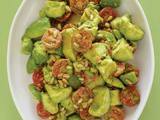 Avocado, Cherry Tomato, Pine Nut, Lime Vinaigrette Salad (from Lemonade Restaurant)