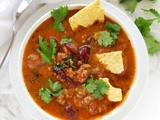 Bison Tortilla Soup in the Instant Pot or Pressure Cooker