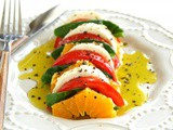 California Caprese Salad {Gluten-Free, Vegetarian, No Cooking}