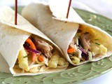Chicken Cole Slaw Wraps {Secret Recipe Club}