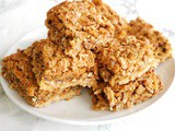 Coconut Pecan Dream Bars #SpringSweetsWeek