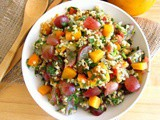 Fast Fruity Tabbouli Salad with Bacon